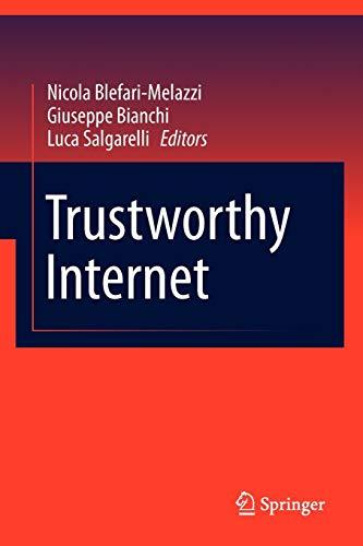 Trustworthy Internet: Nicola Blefari-Melazzi