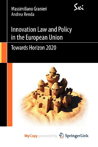 9788847019188: Innovation Law and Policy in the European Union: Towards Horizon 2020