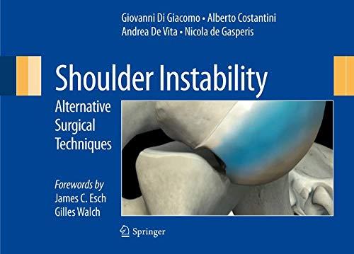 Shoulder Instability: Alternative Surgical Techniques