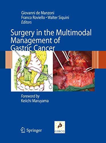 Surgery in the Multimodal Management of Gastric Cancer (Hardback): Walter Siquini