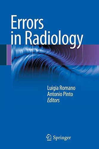 9788847023383: Errors in Radiology