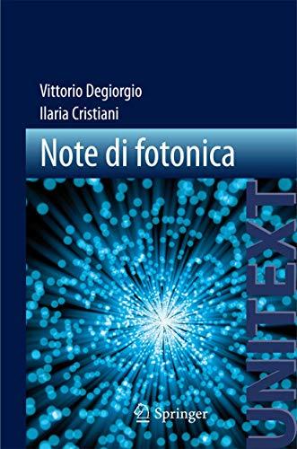 9788847025004: Note di fotonica (Unitext)