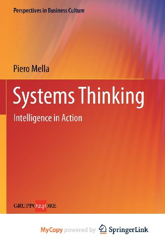 9788847025660: SYSTEMS THINKING. INTELLIGENCE IN ACTION