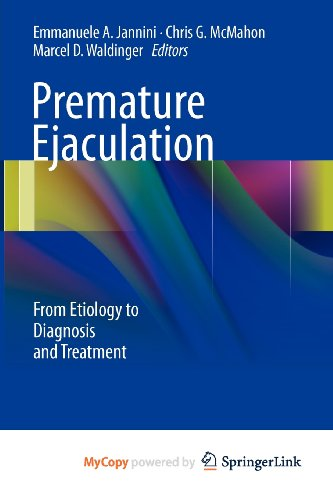9788847026476: PREMATURE EJACULATION. FROM ETIOLOGY TO DIAGNOSIS AND TREATMENT