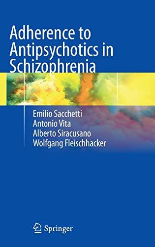 9788847026780: Adherence to Antipsychotics in Schizophrenia