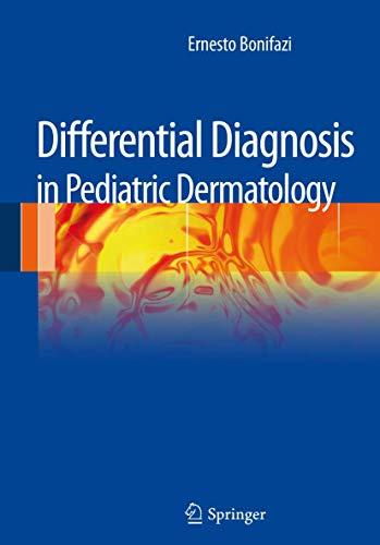 9788847028586: Differential diagnosis in pediatric dermatology