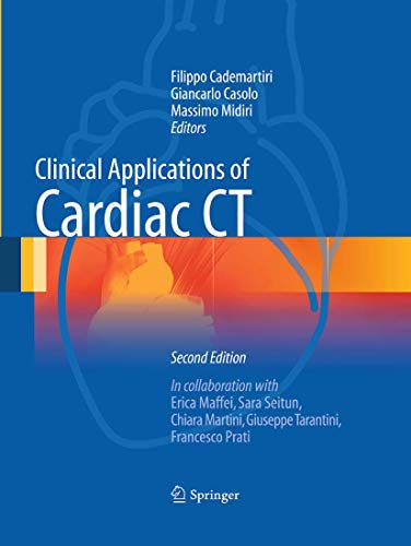 9788847039025: Clinical Applications of Cardiac CT