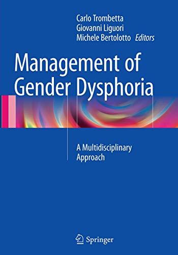 9788847039391: Management of Gender Dysphoria: A Multidisciplinary Approach