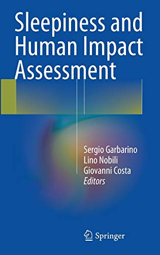 9788847053878: Sleepiness and Human Impact Assessment