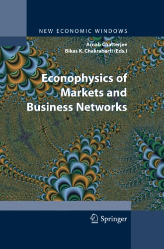 9788847055681: Econophysics of Markets and Business Networks (New Economic Windows)