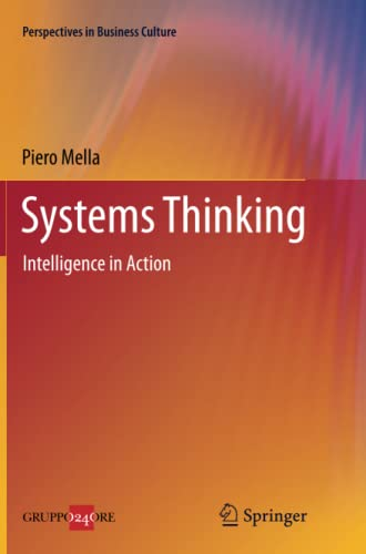 9788847056206: Systems Thinking: Intelligence in Action (Perspectives in Business Culture)