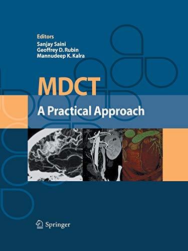 9788847056282: MDCT: A Practical Approach