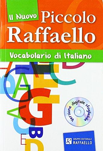 """9788847218031: Nuovo dizionario italiano """"piccolo raffaello"""". Con CD-ROM"""