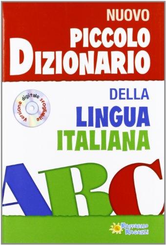 9788847218154: Piccolo dizionario della lingua italiana. Con CD-ROM