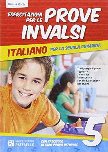 9788847219564: Esercitazione per le prove INVALSI. Italiano. Per la 5ª classe elementare