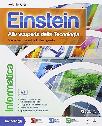 9788847220447: Einstein informatica. Per la Scuola media. Con e-book. Con espansione online