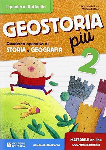 9788847221864: Geostoria. Quaderno operativo di storia e geografia. Per la Scuola elementare: 2