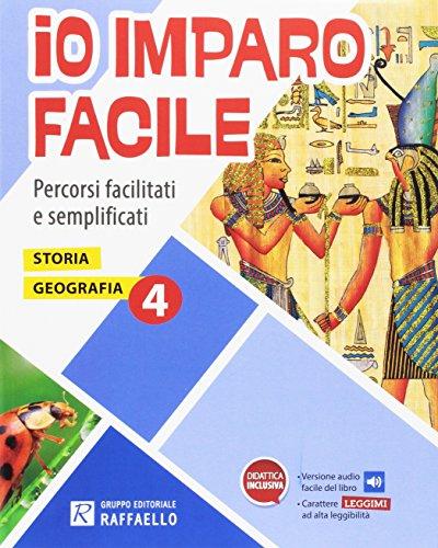 9788847224391: Io imparo facile. Storia. Geografia. Per la Scuola elementare (Vol. 4)