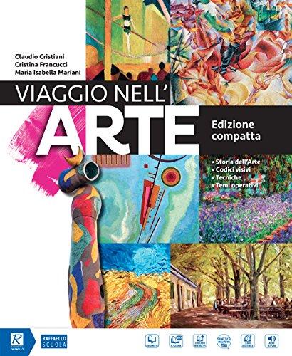 9788847230507: Viaggio nell'arte. Ediz. compatta. Con Il mio album da disegno. Per la Scuola media. Con DVD-ROM M.I.O. book. Con ebook. Con espansione online