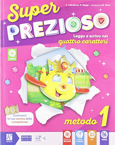 9788847232129: Super prezioso. Pack B. Per la Scuola elementare. Con e-book. Con espansione online (Vol. 1)