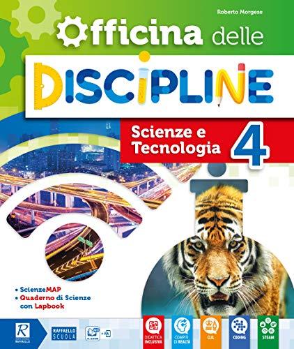 9788847232679: Officina delle discipline. Classe 4ª. Ambito scientifico. Per la Scuola elementare. Con e-book. Con espansione online