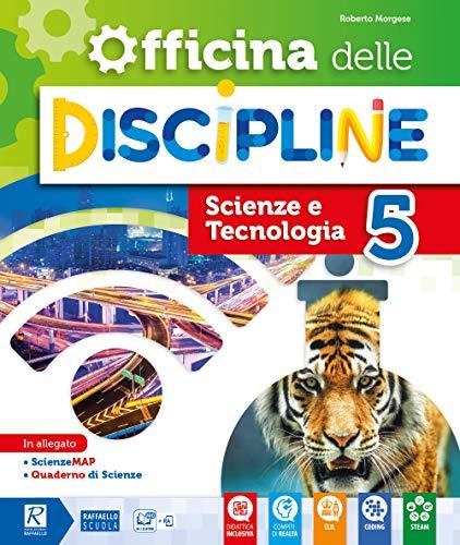 9788847232693: Officina delle discipline. Classe 5ª. Ambito scientifico. Per la Scuola elementare. Con e-book. Con espansione online
