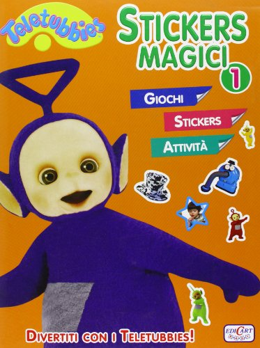 9788847445154: Stickers magici. Teletubbies. Con adesivi. Ediz. illustrata: 1
