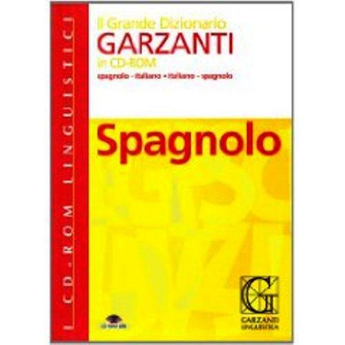 Grande dizionario di spagnolo. CD-ROM (Dizionari su: Garzanti
