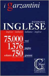 9788848006026: Dizionario inglese. Inglese-italiano, italiano-inglese (I Garzantini)