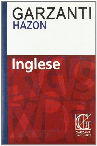 9788848006583: Dizionario inglese Hazon Garzanti