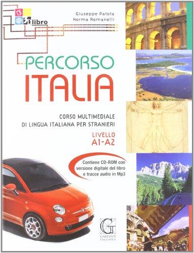9788848040419: Percorso Italia. Livello A1-A2. Con CD-ROM