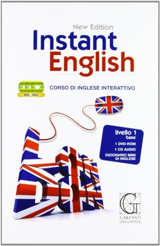 9788848055758: Instant english. Corso di inglese interattivo 1° livello. Con DVD-ROM e CD Audio