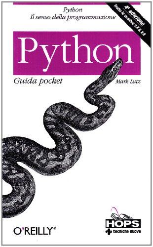 9788848124645: Python guida pocket (Python 3.X e 2.6)