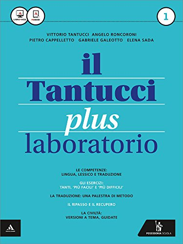 9788848260442: Il Tantucci plus. Laboratorio. Per i Licei. Con e-book. Con espansione online: 1