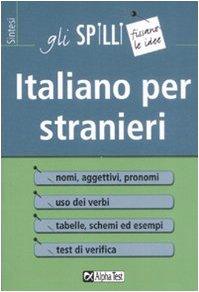 9788848308854: Italiano per stranieri
