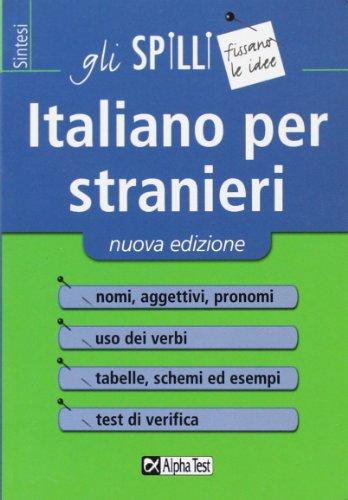 9788848314664: Italiano per stranieri