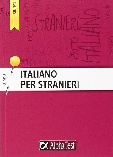 9788848316293: Italiano per stranieri