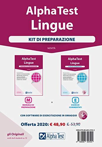 9788848322522: Alpha Test Lingue. Kit di Preparazione