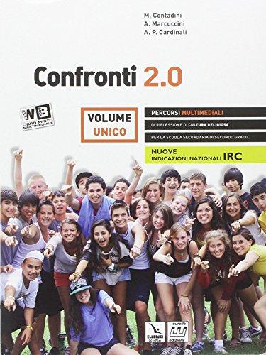 9788848461030: Confronti 2.0. Vol. unico. Per le Scuole superiori. Con DVD. Con e-book. Con espansione online
