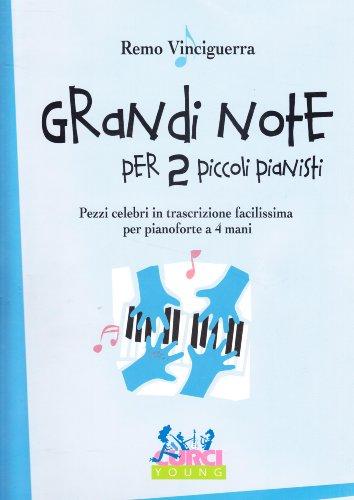 9788848504072: Grandi note per due piccoli pianisti
