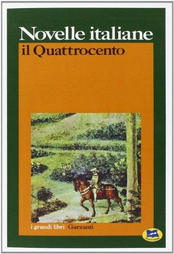 9788848800471: Novelle italiane. Il Quattrocento