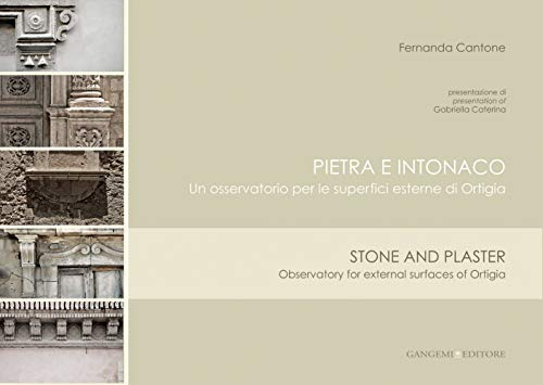 9788849225006: Stone and plaster: Observatory for external surface of Ortigia (Italian and English Edition)
