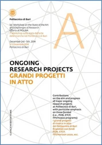 Ongoing Research Projects: Volume 1: 1st Workshop on the State of the Art and Challenges of ...
