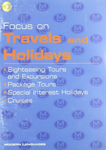 9788849302400: Focus on Travel and Holidays & CD