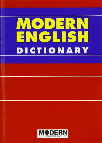 9788849304350: Modern English Dictionary