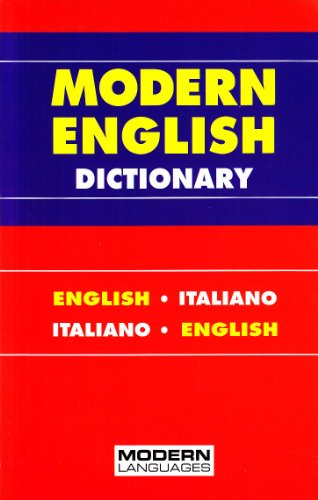 9788849304473: Modern English dictionary