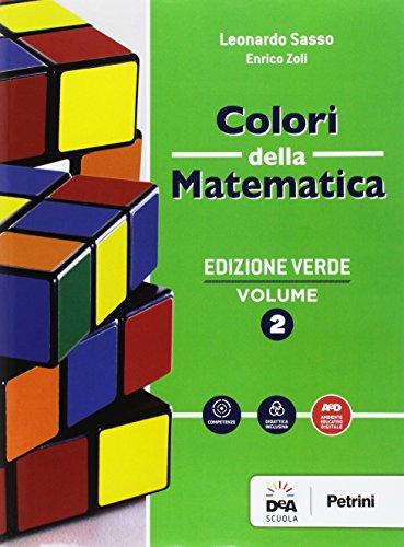 9788849421736: Colori della matematica. Quaderno. Ediz. verde. Per gli Ist. tecnici. Con e-book. Con espansione online: 2