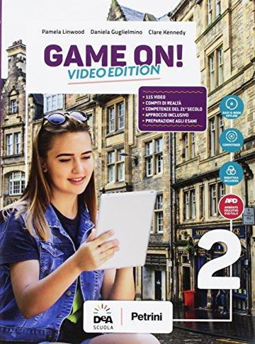 9788849421798: Game on! Student's book-Workbook. Per la Scuola media. Con audio formato MP3. Con e-book. Con espansione online. Con Libro: Maps. Con DVD-ROM [Lingua inglese]: 2