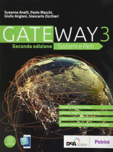 9788849423273: Gateway. Sistemi e reti. Per le Scuole superiori. Con e-book. Con espansione online: 3