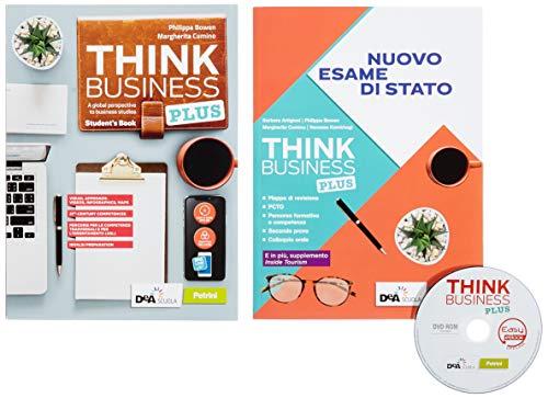 9788849424331: Think business plus. Student's book + fascicolo nuovo esame di stato e extra. Easy ebook. Per le Scuole superiori. Con e-book. Con espansione online